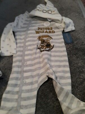 primark harry potter baby grow