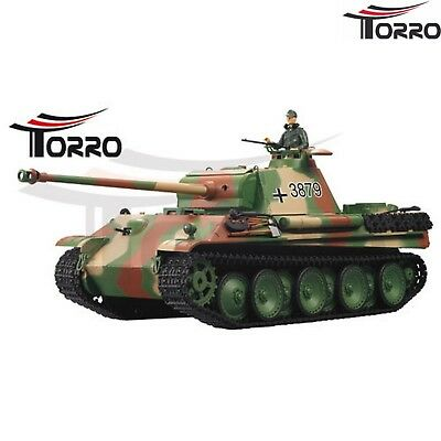 Torro TEDESCO CARRO ARMATO RC Panther G BB 2.4 GHZ 1:16 -Edition 1112438791