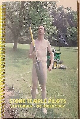 *** STONE TEMPLE PILOTS *** 2002 Tour itinerary book - CREW ONLY - SCOTT WEILAND