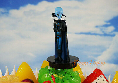 DreamWorks Megamind Bad Blue Brillant Toy Model Cake Topper Decoration N226