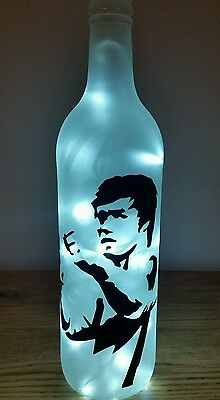 Bruce Lee bottle lamp