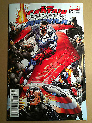 All-New Captain America #3 Neal Adams 1:25 Variant Cover Vf/nm First Printing