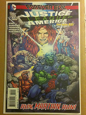 JUSTICE LEAGUE of AMERICA #10 1:25 VARIANT NEW 52 NM MATT KINDT 'FOREVER EVIL'