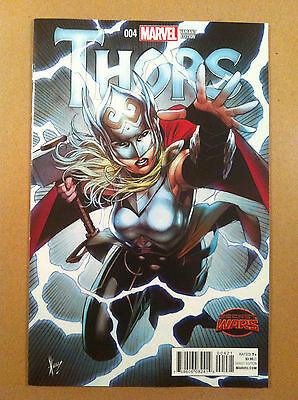 Thors #4 Dale Keown 1:25 Variant Cover Secret Wars Nm- 1St Printing Jason Aaron