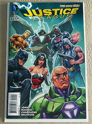 Justice League #33 Howard Porter 1:25 Variant Cover New 52 Near Mint Geoff Johns