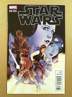 Star Wars (2015) #16 Stuart Immonen 1:25 Variant Cover Nm 1St Printing Marvel