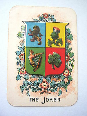 Johnson Bros Chad Valley Blaze 61 Card Poker Based Antique Card Game 1900 - 1910