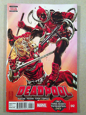 Deadpool V.3 #42 Gerry Duggan Brian Posehn Salva Espin Nm 1St Printing Omega Red