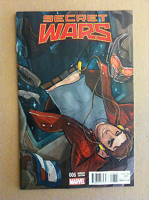 Secret Wars (2015) #6 Babs Tarr Variant Cover Star-Lord Gotg Nm 1St Printing