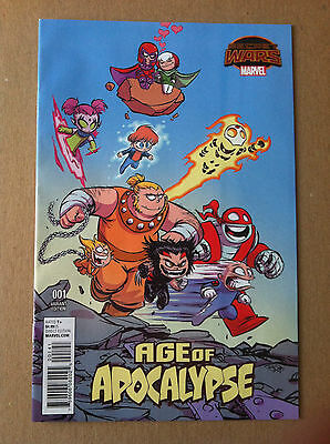 Age Of Apocalypse #1 Skottie Young Variant Cover Secret Wars 2015 Vf/nm 1St Ptg