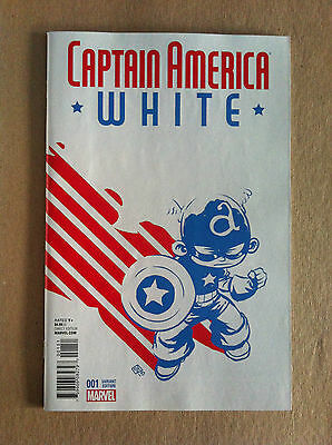 Captain America White #1 Skottie Young Variant Jeph Loeb Tim Sale 1St Print Nm