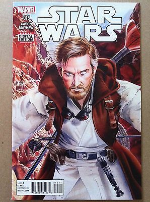 Star Wars (2015) #15 Obi-Wan Kenobi Jason Aaron Mike Mayhew Nm 1St Printing