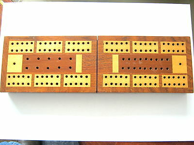 Antique Playing Cards  Crib Cribbage Box Excellent Condition 1870 - 1880