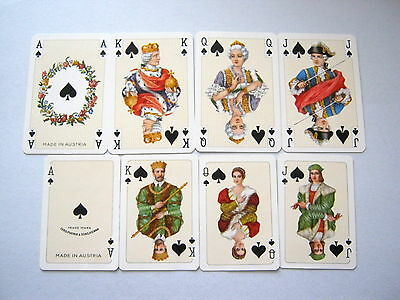 Vintage Playing Cards Stunning X2 Court Card Sets Of 16 Court & Ace Cards [34]