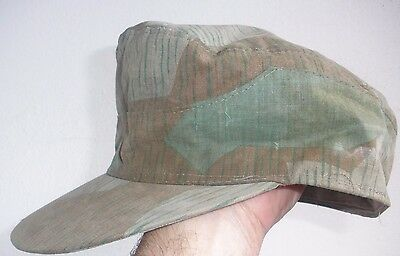 Gorra Splinter Wwii Alemana, German Her Splinter Cap