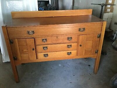 Stickley Brothers Sideboard Buffet Mission Oak Arts Crafts
