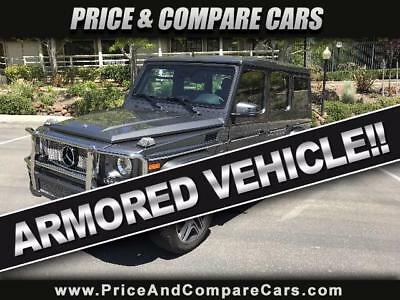 2014 Mercedes-Benz G-Class  2014 MBZ G63 AMG LUXURY AMORED VEHICLE PREVIOUSLY OWNED LARRY ELLISON VEHICLE