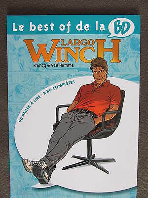 LARGO WINCH Francq Van Hamme Le best of de la BD Vol 6 - 96 pages 2 BD complètes