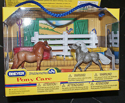 neuf CLASSICS COLLECTION Horse cheval BREYER STABLEMATES  PONY CARE échelle 1:32