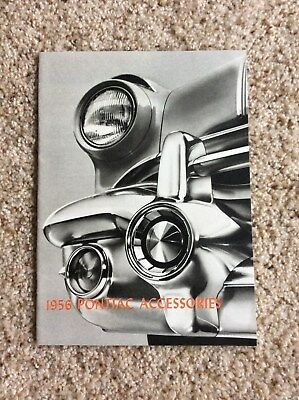 1956 Pontiac original dealership showroom accessories  sales handout