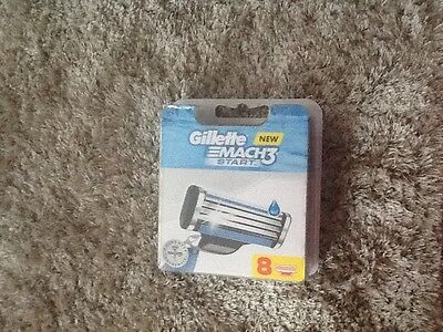 Gillette Mach 3 Start Razor Blades 8