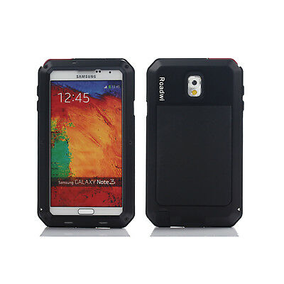 HEAVY DUTY Shockproof Bumper Aluminum Metal Cover Case For Note 3 Samsung