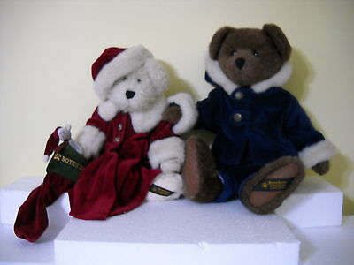 Boyds Bears Plush Limited Edition Alex Berriman & Tasha B. Frostberry Pair