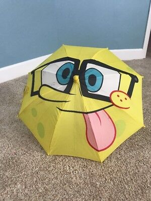 SpongeBob Squearepants umbrella Molded Umbrella for Kids Yellow