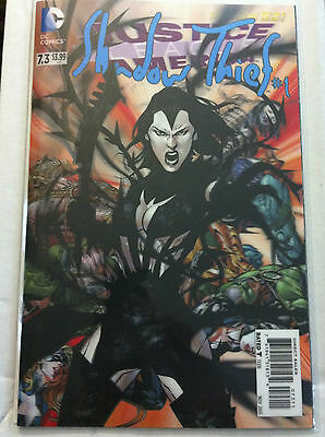 Justice League Of America #7.3 Shadow Thief #1 3-D Motion Lenticular Hologram Nm