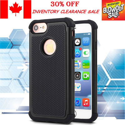 ShockProof Hybrid Armor Hard Case Cover For Apple iPhone 7 7 Plus / 8 and 8