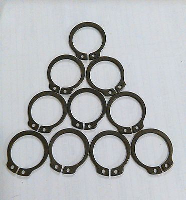 Meyer Retaining Ring D1400-020-8 DIN 471 EXT 20MM phosphate 10 pieces