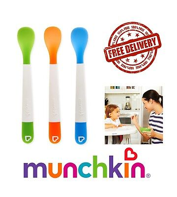 Baby Feeding Scoop Soft Tip Travel Trening Munchkin 12m+ 3 Lift