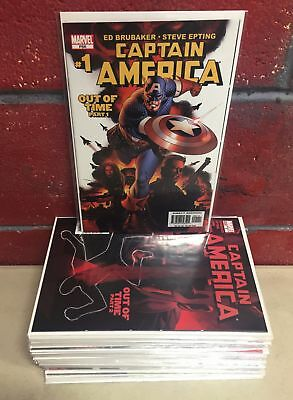 Captain America (2004) #1-43 Winter Soldier Brubaker Marvel Comics Vf/nm