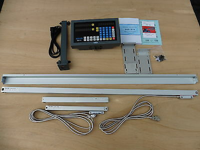 "Digital Read Out System Kit for lathe.2-Axis fit 16"",17"",18"",19"",20""x60""  lathes"