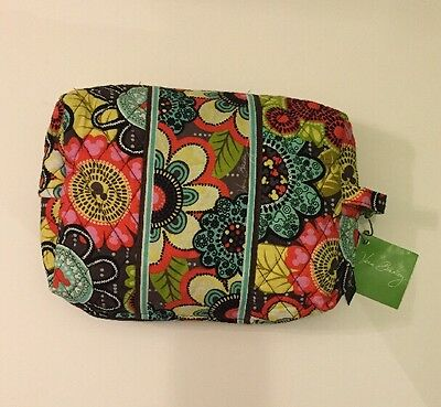 NWT Vera Bradley Travel LARGE Cosmetic Bag Disney Limited Edition Perfect Petals