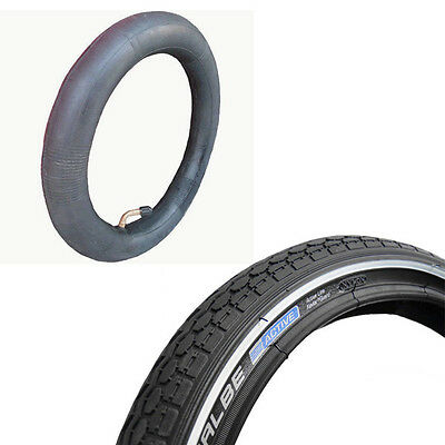 "2 x 12.5"" Puncture Protected tyres & a.v. inner tubes for Bugaboo Frog Pushchair"