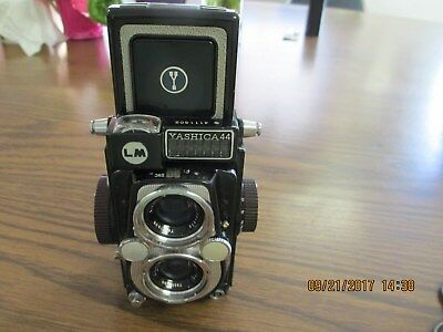 Vintage Yashica 44 LM Camera with Twin Lenses