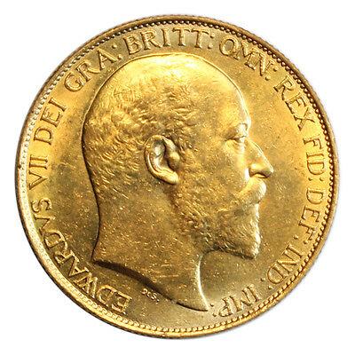 1902 Two Pound (Double Sovereign), Edward Vii