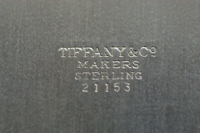 Tiffany & Company. Sterling Silver Serving Tray #21153  With Free...