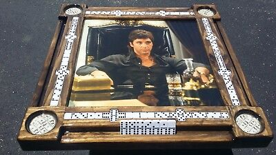 Scarface Themed Domino Table by Domino Tables by Art