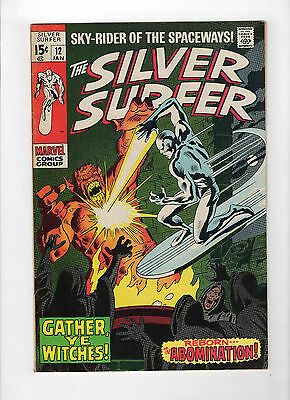 The Silver Surfer #12 (Jan 1970, Marvel) - Very Fine