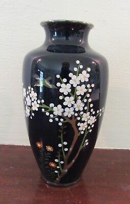 Antique vtg 1940's cloisonne vase made in Japan