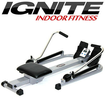 Compact Hydraulic Rowing Workout Machine with Rower Display Computer (AU SELLER)