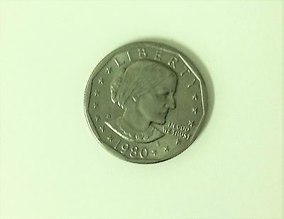 1980 Susan B Anthony Deep Cameo US One Dollar Coin