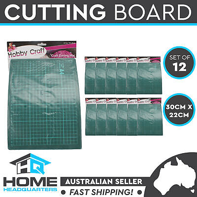 A4 Cutting Mat Quilting Craft Protector Self Healing Grid Lines Print Set of 12