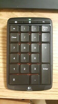 cfe9ba37cc7 LOGITECH N305 WIRELESS Number Pad - Lightly Used, tested and working ...