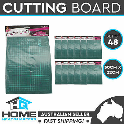 A4 Cutting Mat Quilting Craft Protector Self Healing Grid Lines Print Set of 48