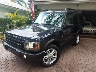 2004 Land Rover Discovery SE5 SPECIAL TRAIL EDITION 2004 LAND ROVER DISCOVERY SE5 4X4 DOUBLE MOON ROOF FROM FL!  ABSOLUTELY LIKE NEW