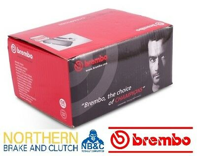 BREMBO FRONT BRAKE PADS suit FPV GT & GT-P 4 POT FRONT BREMBO CALIPERS BA,BF FG