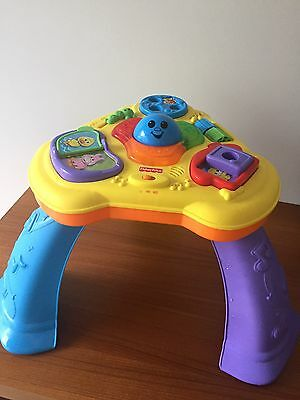 Fisher And Price Toy Activity stand Table - P/U Sydney